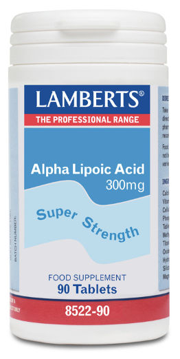 Lamberts Alpha Lipoic Acid 300mg